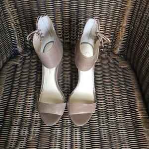 Shoes - Jessica Simpson Nude Wedges Sz 7.5